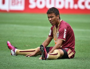 Marcos Rocha tem preocupações defensivas contra o Tricolor (Foto: Bruno Cantini / Site Oficial do Atlético-MG)