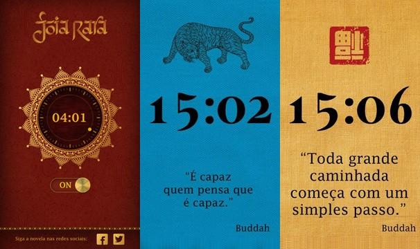 O aplicativo Joia Rara existe para os dispositivos móveis que usam os sitemas Android e iOS (Foto: Globo)