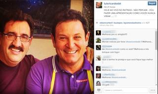 Luis Ricardo no INstagram (Foto: Reprodução/ Instagram)
