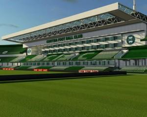 Coritiba - projeto do Estádio Couto Pereira (Foto: Divulgação/site oficial do Coritiba Foot Ball Club)