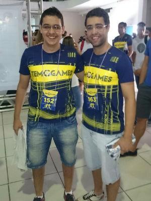 Rafael e Rodrigo (Foto: Wilton Tormena/G1)