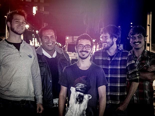 Artur Lipori, Bruno Castilho, Heitor Humberto, Diego Perin e Jota Borgonhoni (Foto: Rosano Mauro Jr. / Divulgação)