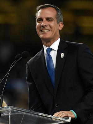 Eric Garcetti prefeito los angeles olimpíadas 2024 (Foto: Getty Images)
