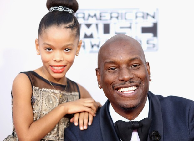 Tyrese Gibson e a filha, Shayla (Foto: Getty Images)