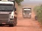 No MA, estradas precárias dificultam o escoamento da safra de soja