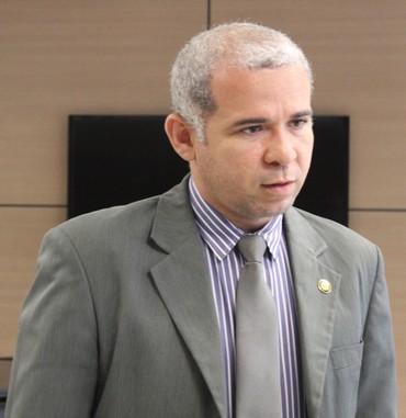 Tiago Vasconcelos Flamengo-PI (Foto: Renan Morais/GloboEsporte.com)