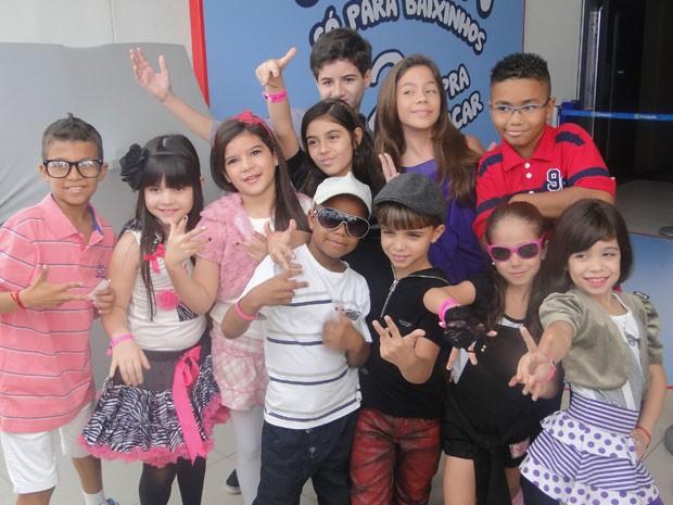 Algumas das crianças que participam do DVD 'XSPB 12' (Foto: TV Xuxa/TV Globo)