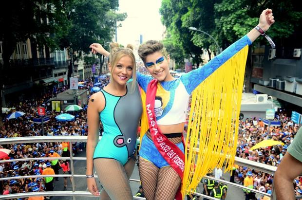 Gabi Lopes e Isabella Santoni (Foto: Agnews)