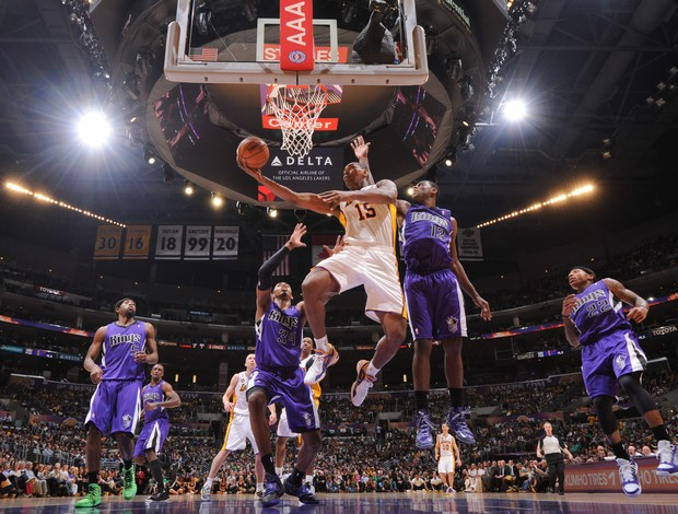 Basquete NBA Metta World Peace Los Angeles Lakers x Sacramento Kings  (Foto: Noah Graham / NBAE / Getty Images / AFP)