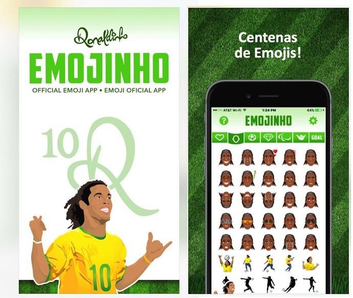 BLOG: Emojinhos: Ronaldinho Gaúcho lança aplicativo para mensagens