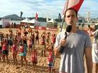 Circuito de Verão oferece atividades físicas gratuitas em praias do ES
