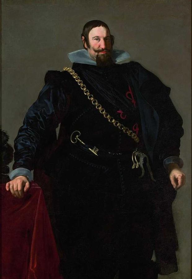 """""""Retrato do Conde-duque de Olivares"""", do pintor Diego Velázquez, que integra o acervo do MASP (Foto: Divulgação)"""