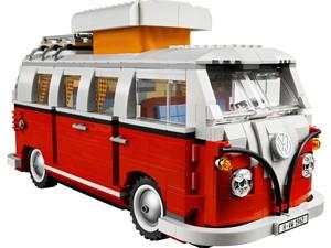Kombi montável da Lego (Foto: Divulgação)