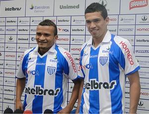 Aelson e Neílson vestiram a camisa do Avaí (Foto: Divulgação)