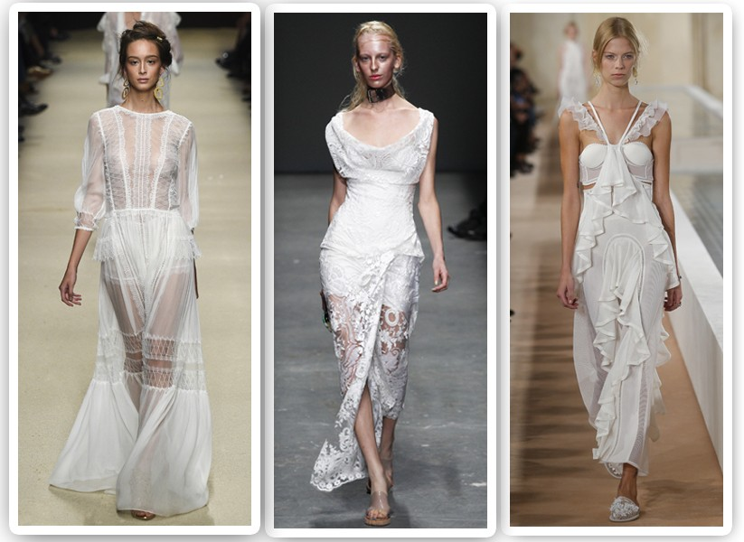 De Paris a Nova York, inspire-se nos vestidos de noiva das passarelas de verão 2016