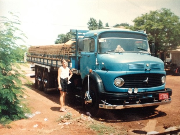 A paixão pelas estradas surgiu após uma viagem com o marido (Foto: Ermida Aparecida/Arquivo Pessoal)