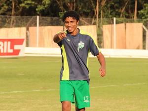 Atacante Misael do Luverdense (Foto: Assessoria/Luverdense Esporte Clube)