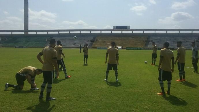 Botafogo-PB, treino, Albertão (Foto: Divulgação / Botafogo-PB)