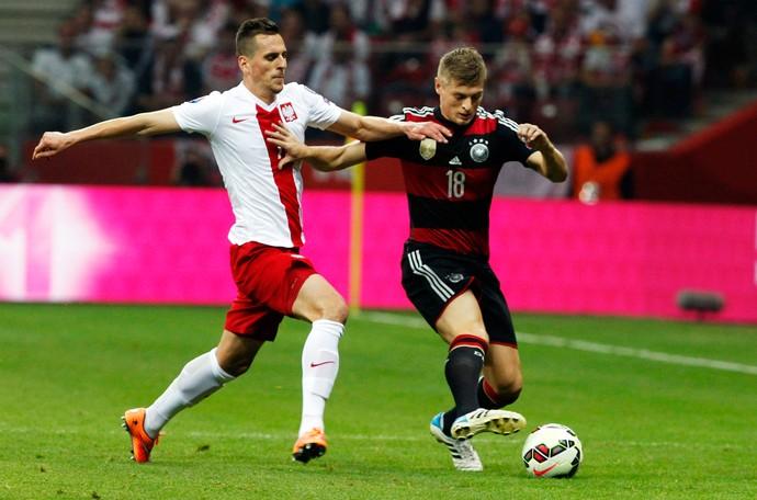 Alemanha x Polônia - Toni Kroos (Foto: AP)