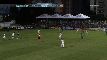 Confira os melhores momentos de Goiás 1 x 2 Aparecidense