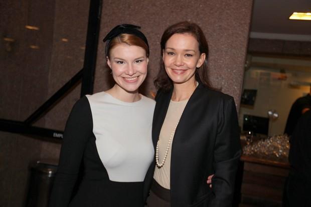 Julia Lemmertz e a filha Luiza Lemmertz (Foto: Leo Franco / Agnews)