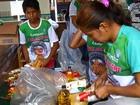Campanha 'Natal sem fome' já arrecadou 15 toneladas de alimentos