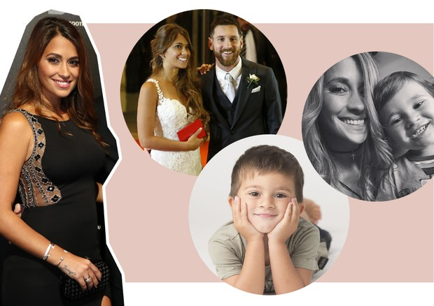 Os bebês de 2018 - Antonella Roccuzzo (Foto: Bryn Lennon/Getty Images, Gabriel Rossi/LatinContent/Getty Images e Reprodução/Instagram)
