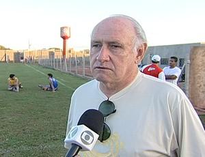 Vice presidente do Uberaba Sport, Normandes Lima (Foto: Reprodução/TV Integração)