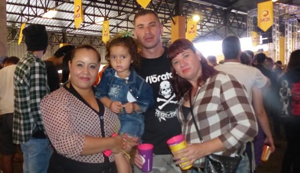 A criançada também marcou presença no Curitiba Rock Carnival (Foto: Divulgação/ RPC)