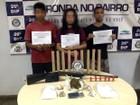 Trio é preso com arma e drogas em casa na Zona Norte de Manaus