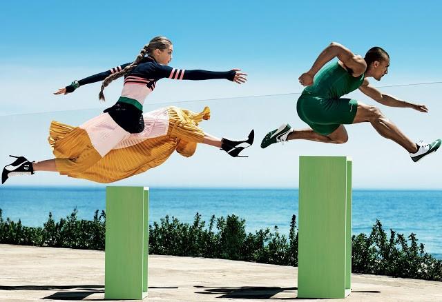 Gigi Hadid na Vogue americana de agosto (Foto: Vogue America )