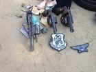 Homens são presos com armas, maconha e dinheiro no Agreste de AL