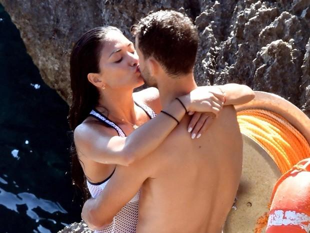 Nicole Scherzinger e o namorado, Grigor Dimitrov  (Foto: AKM-GSI)