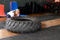 Aos 58 anos, acreana pratica funcional (Nathacha Albuquerque)