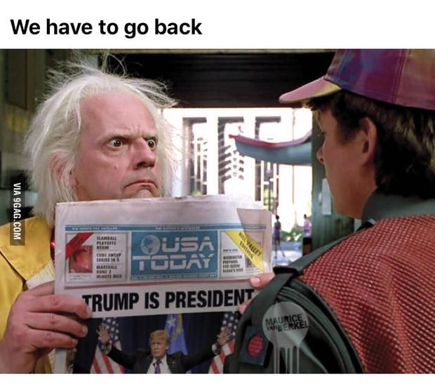 Vitória de Donald Trump bomba em memes na web (Foto: Reprodução / Twitter)