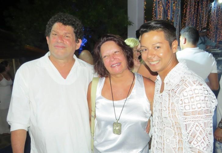 Alexandre Nóbrega, Maria Suassuna e Eider Santos
