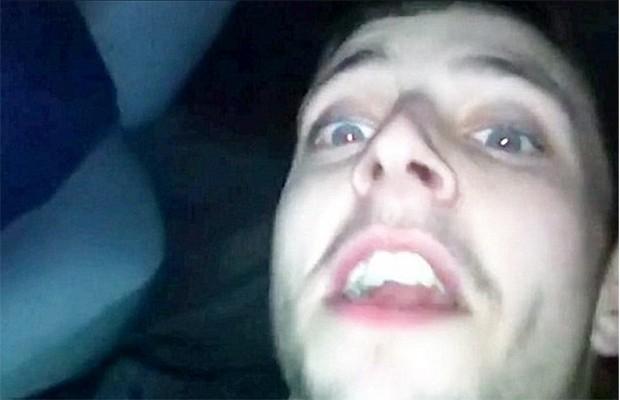 Michael Owen foi o jovem que gravou o vídeo (Foto: Reprodução)