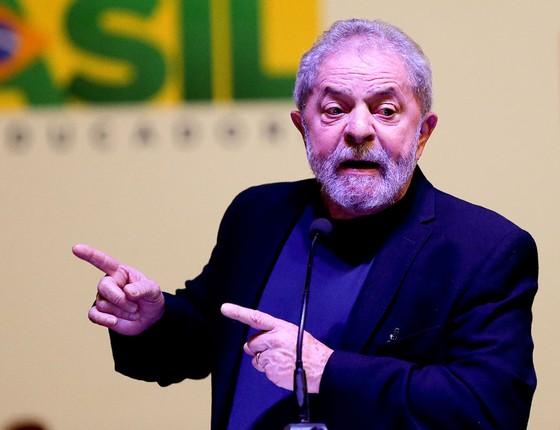 O ex-presidente Luis Inácio Lula da Silva (Foto: Alan Marques/Folhapress)