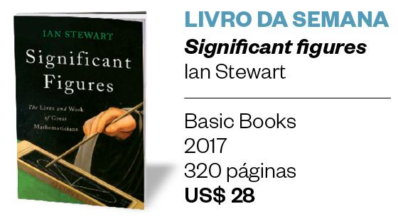 LIVRO DA SEMANA - Significant figures, de Ian Stewart (Basic Books, 2017, 320 páginas, US$ 28) (Foto: Divulgação)
