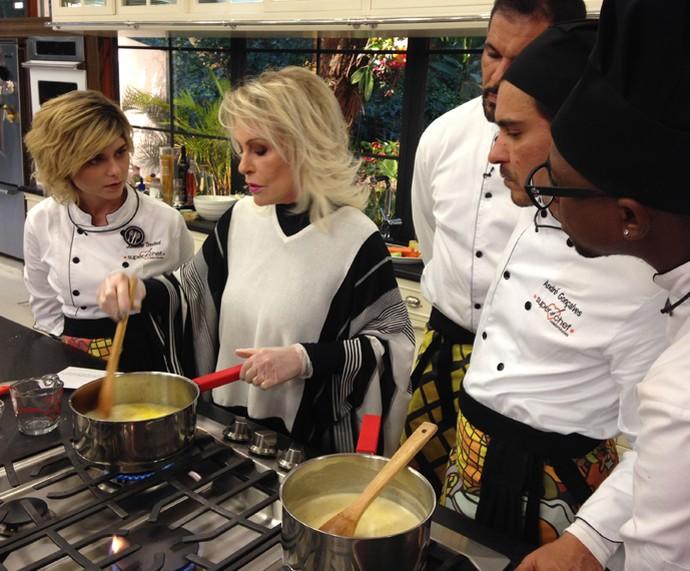 Ana Maria ensina como fazer Molho de Limão (Foto: Melina Mantovani/Gshow)
