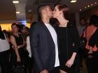 Sophia Abrahão diz que evita assistir cenas de beijo de Sérgio Malheiros