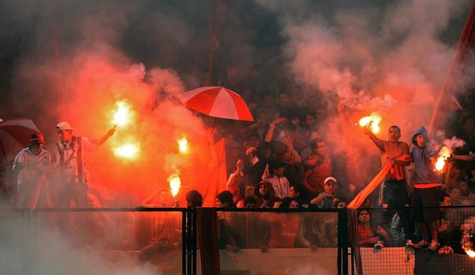 torcida Independiente (Foto: Alejandro Pagni/AFP)