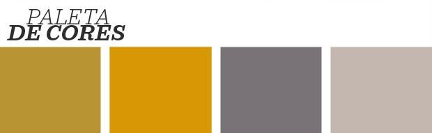 Décor do dia: amarelo em destaque no home office  (Foto: Divulgação)