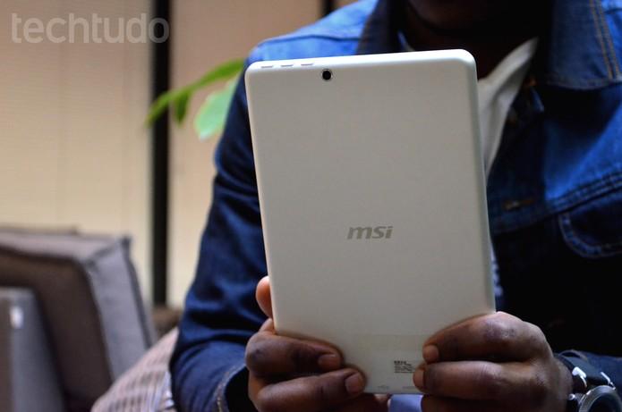 MSI Primo 81 (Foto: Luciana Maline/TechTudo)