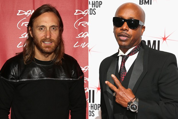 David Guetta e MC Hammer  (Foto: Getty Images)