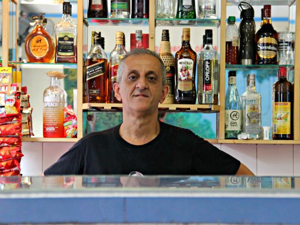 """""""Gringo"""" pretende abrir mais um bar até o fim do ano (Foto: Suelen Gonçalves/G1 AM)"""