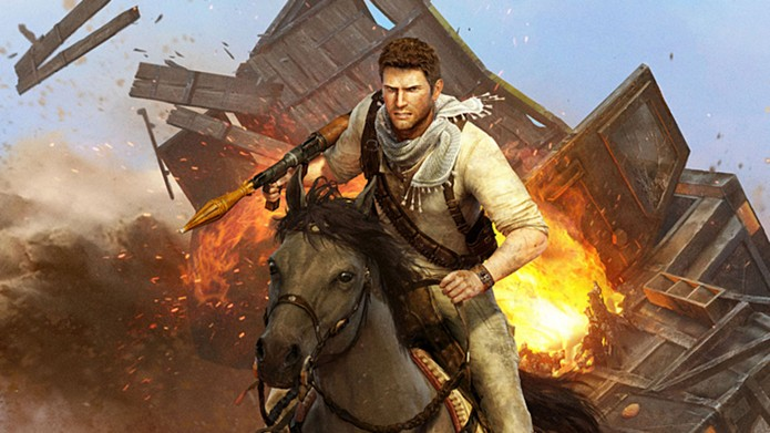 Uncharted 3 é um dos games em promoção na PSN (Foto: Divulgação/Sony)