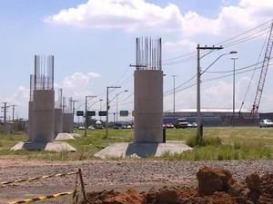 Nova Ponte do Guaíba (Foto: Reprodução/RBS TV)
