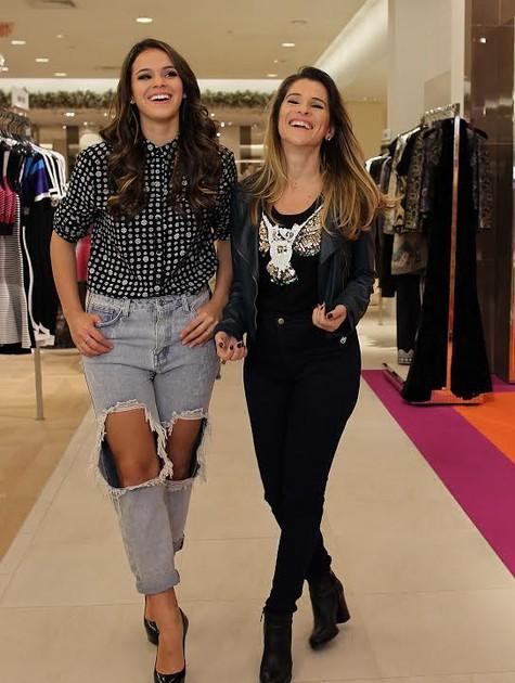 Bruna Marquezine e Ingrid Guimarães (Foto: Duarte Roriz)