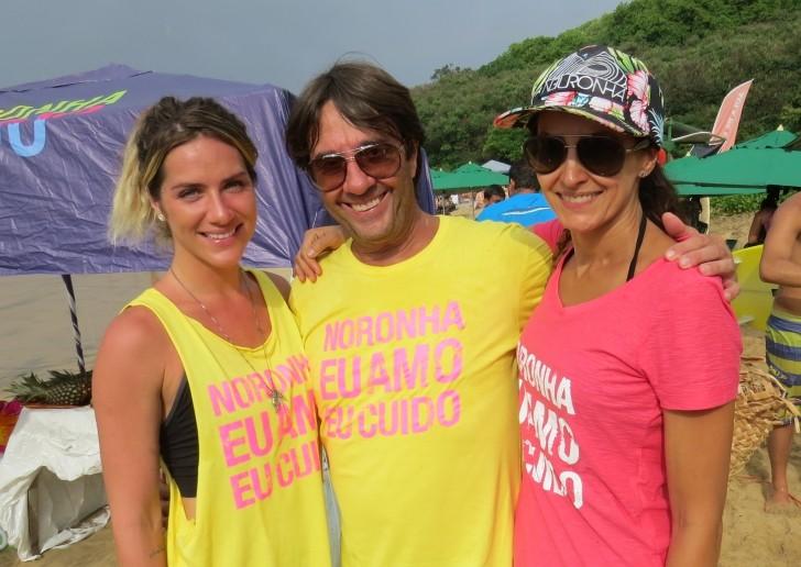 Giovanna Ewbank , Paulo e Bia Fatuch